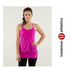 Lululemon No Limits hot pink bra Tank Top 6